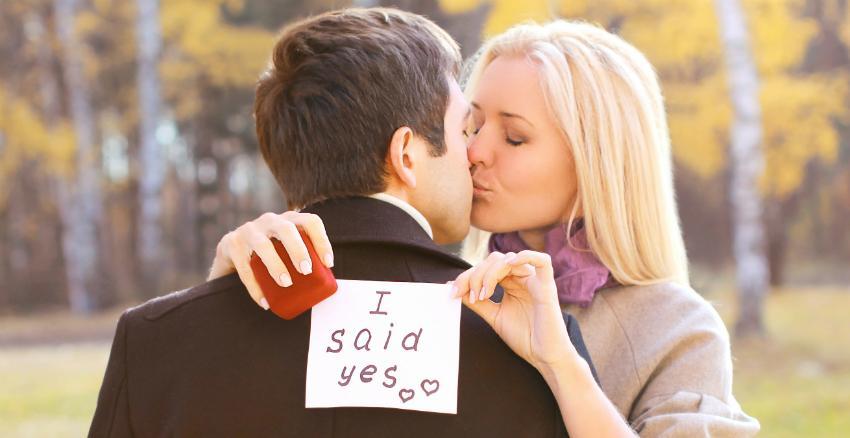 Ein kreatives, unvergessliches Foto zur Verlobung