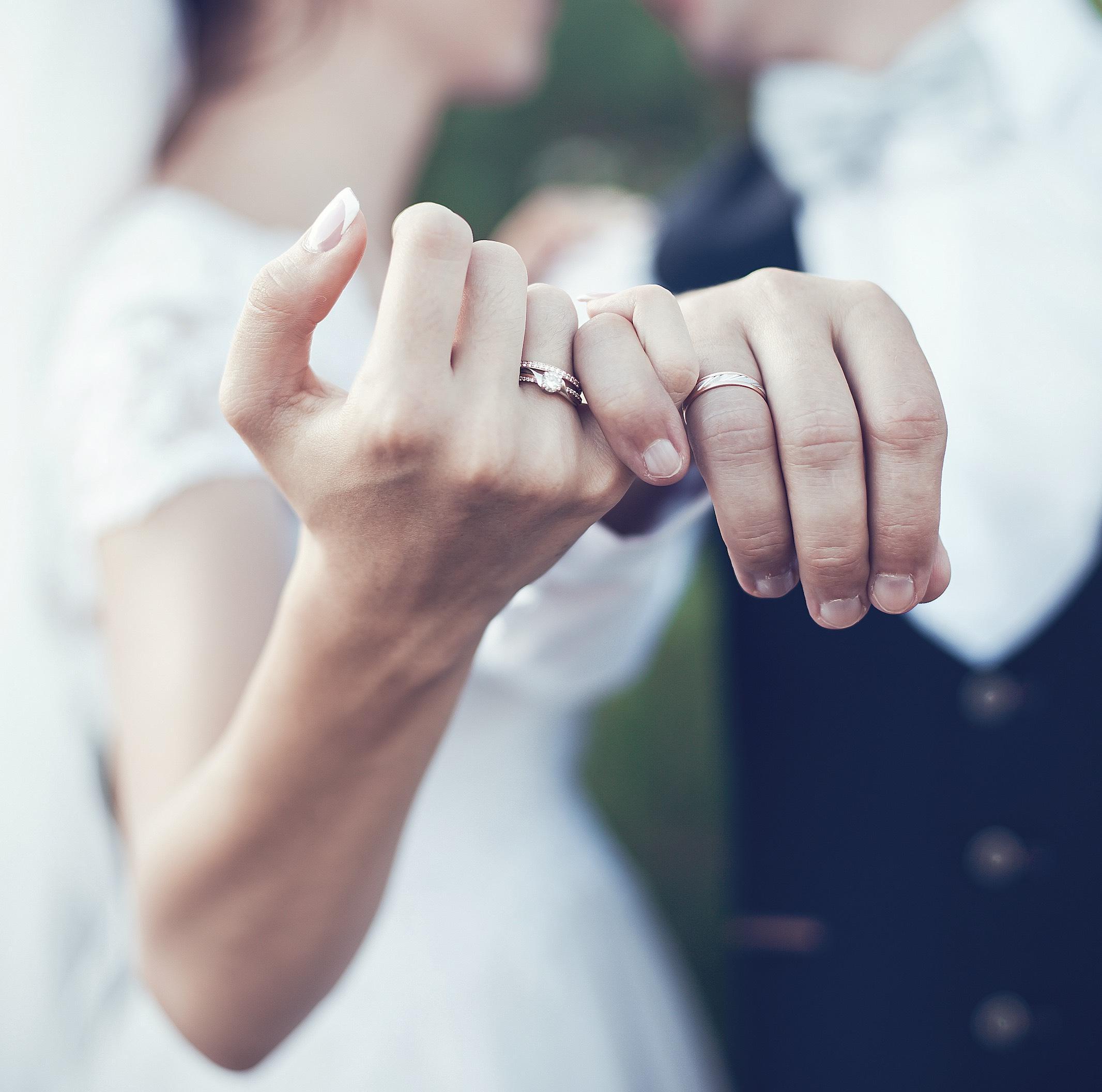 Verlobungsring nach der Hochzeit tragen? Verlobungsring