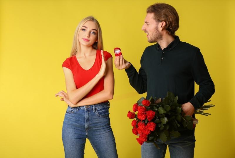 Gruende fuer die Ablehnung des Heiratsantrages