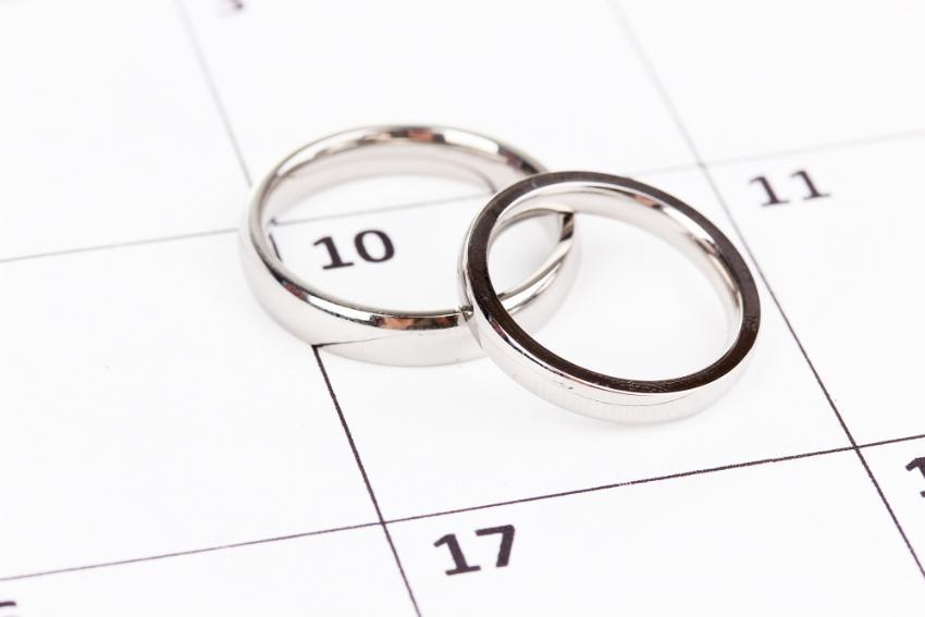 Wählen Sie einen besonderen Tag für die Hochzeit