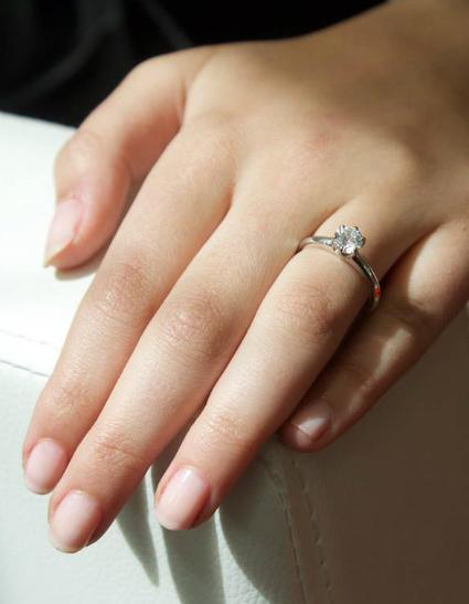 Normaler Verlobungsring oder Vorsteckring?