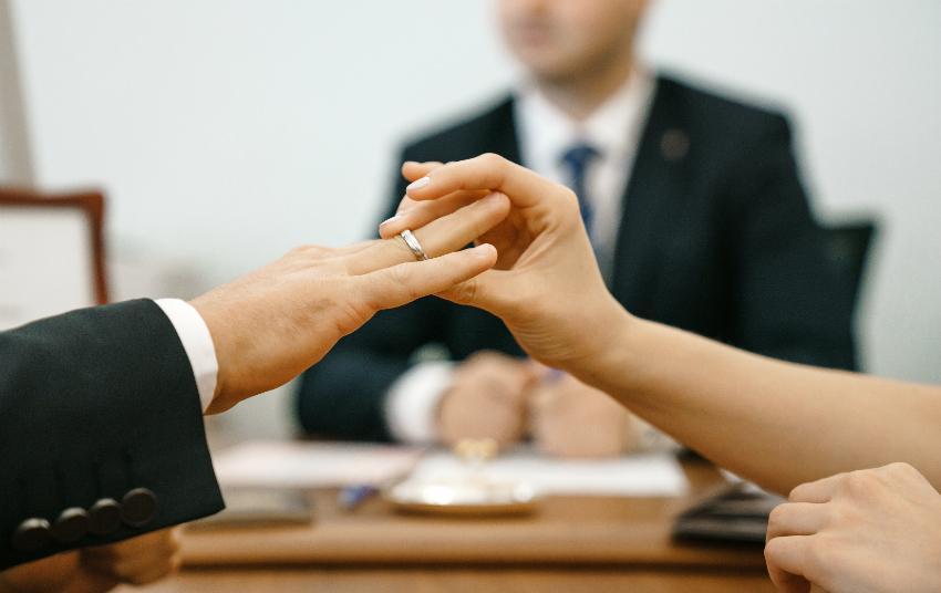 Beachten Sie die Formalitäten vor der Hochzeit