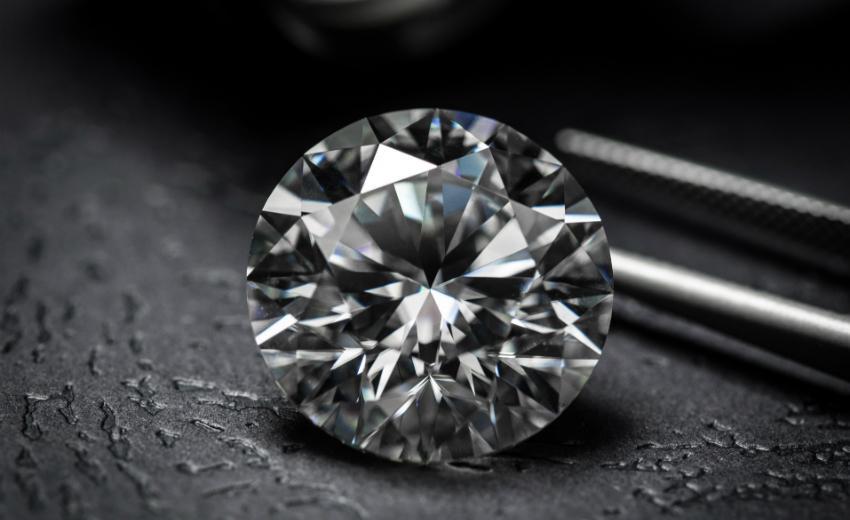 Ein geschliffener Diamant