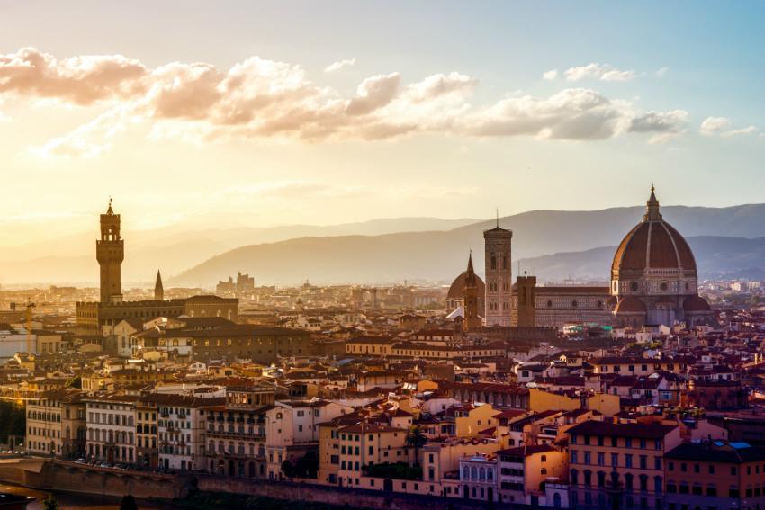 Die Hauptstadt der romantischen Toskana: Florenz
