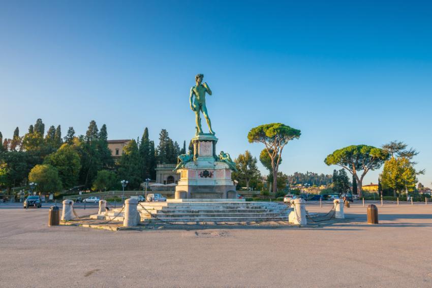 Der berühmte PiazzaleMichelangelo