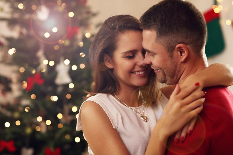 Ideen fuer den Heiratsantrag in der Weihnachtszeit