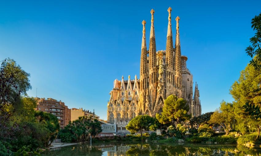 Das Wahrzeichen Barcelonas: Die Sagrada Familia