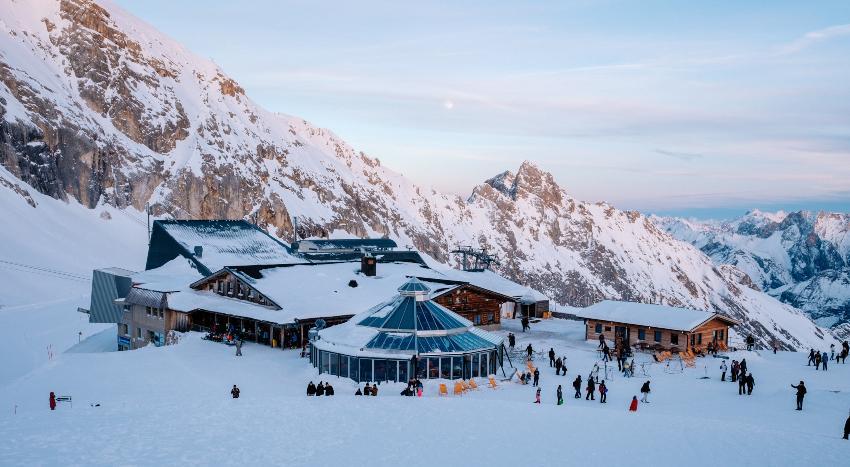 Gletscherrestaurant Sonnalpin - Heiraten auf der Zugspitze