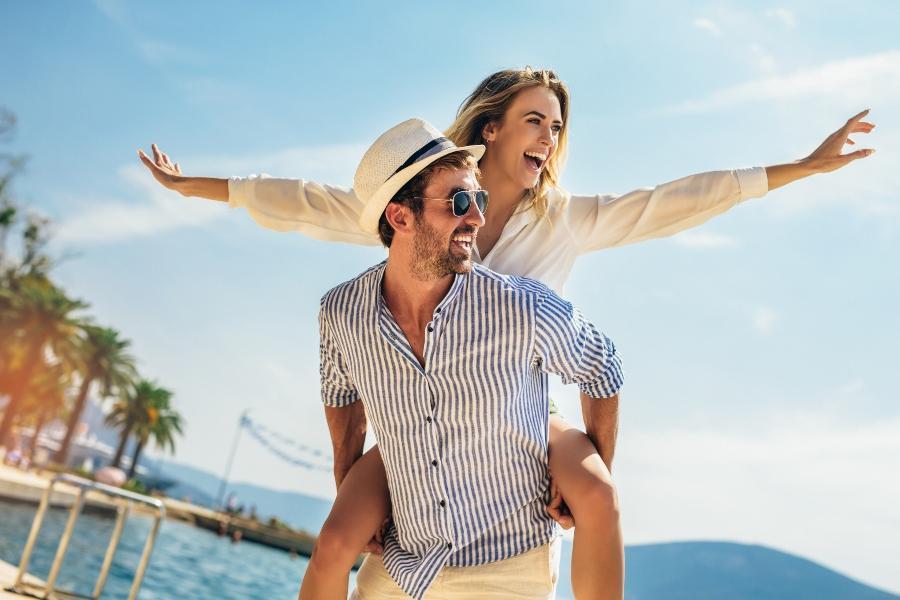 Waehrend der Verlobungsreise gemeinsame Zeit geniessen und Kraft tanken
