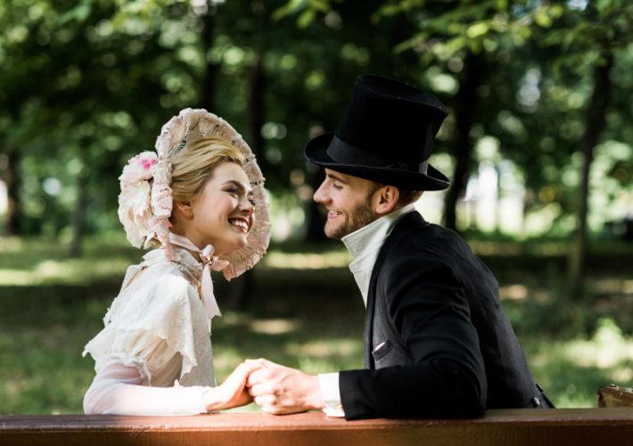Viktorianische Hochzeit
