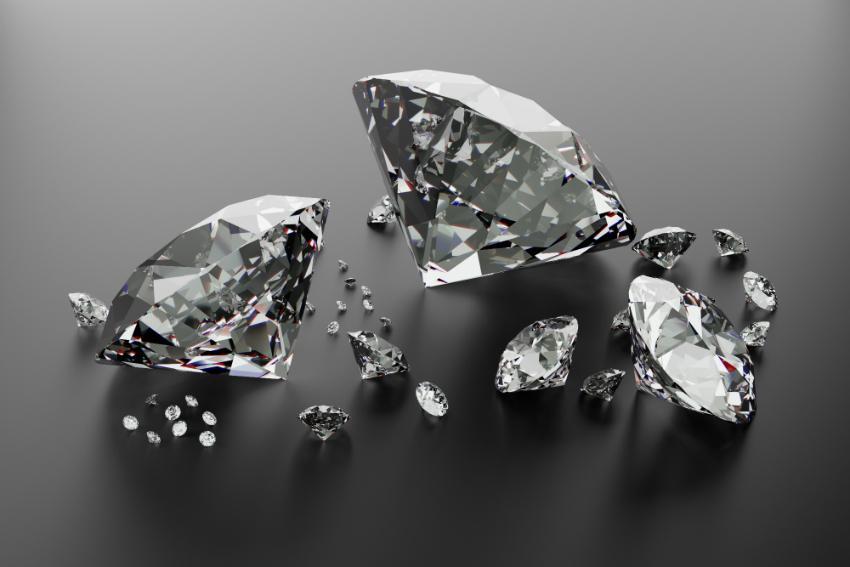 Die Reinheit der Diamanten ist entscheidend