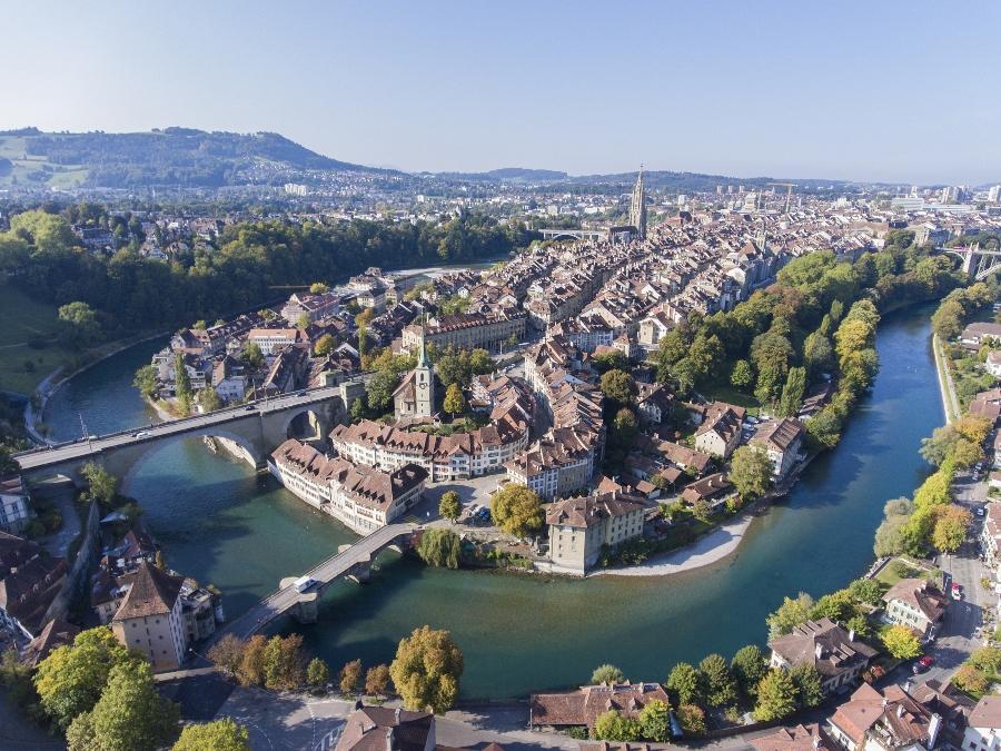 Berner Altstadt Luftaufnahme heiratsantrag-in-der-schweiz