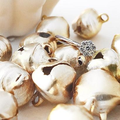 Verlobungsring 7 Diamonds in 925 Silber