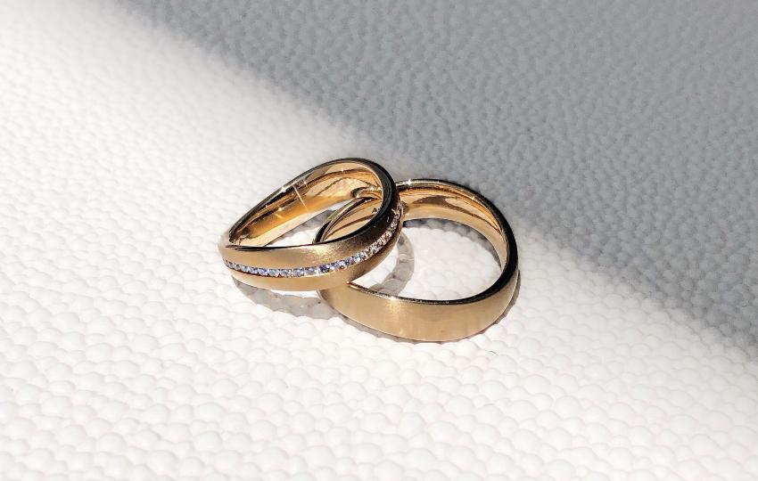 2 Ringe für Paare