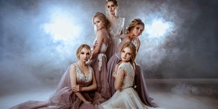 4 Models für Brautkleider - Hochzeitsmesse