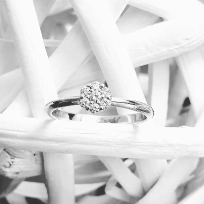 7 Diamonds Verlobungsring