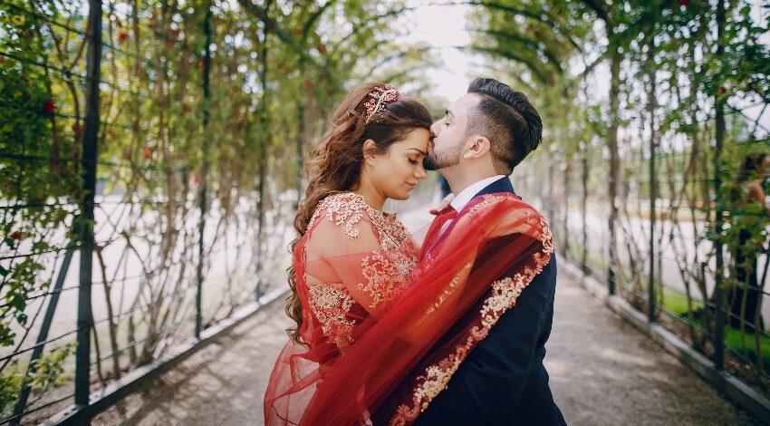 Türkisches Hochzeitspaar