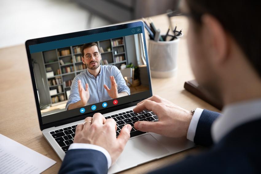 Online-Beratung per Videochat