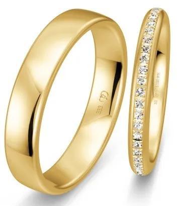 Memoire-Trauringe für die Goldene Hochzeit