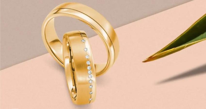 Partnerringe in Gold - Eheringe für Männer