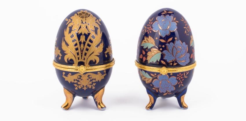 Fabergé-Eier mit roségoldener Legierung