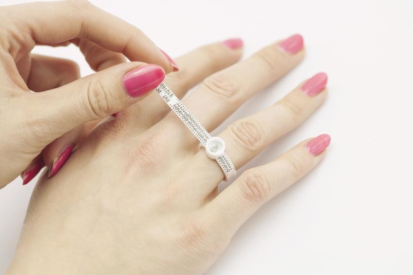 Ringgröße mit einem Ringmaß messen