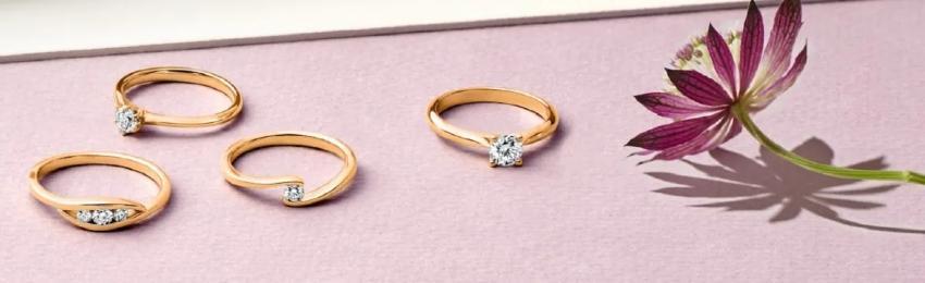 Verlobungsringe aus Roségold