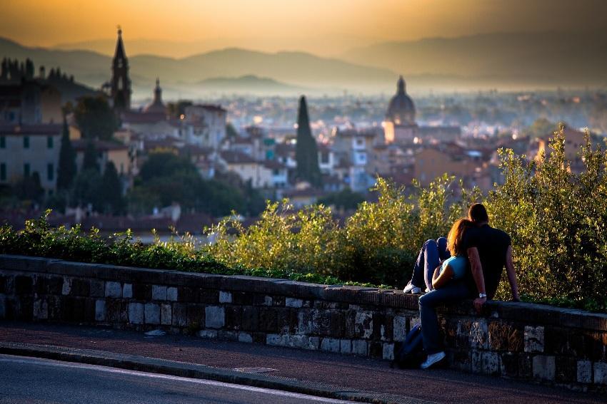 Verlobung in Italien - Toskana