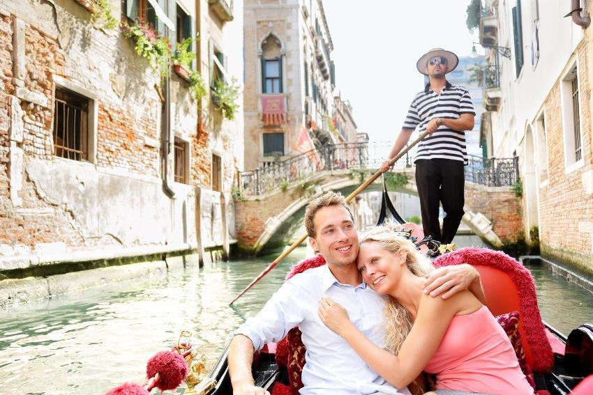 Verlobung in Italien: Venedig