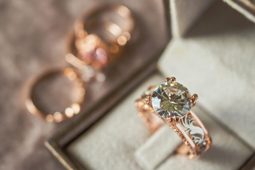 Vintage-Ring Belle Epoque