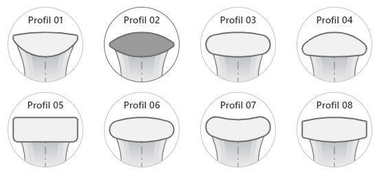 Ehering nachmachen - Ringprofil