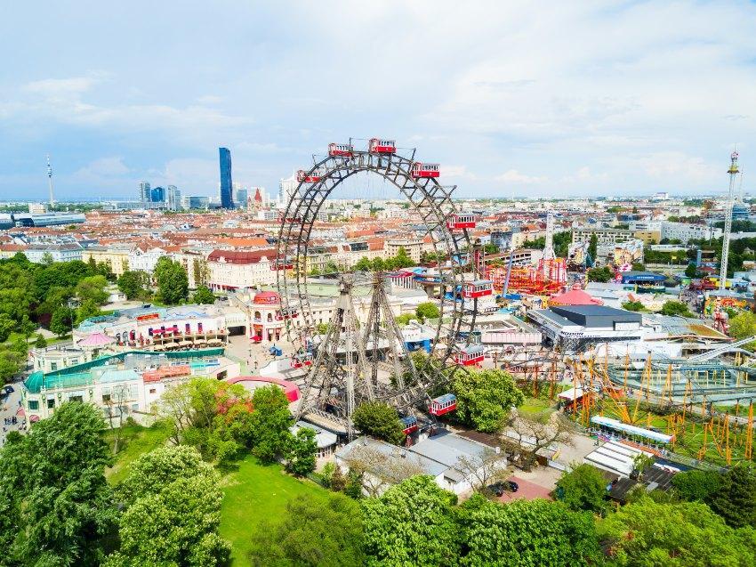 Verlobung in Wien - Riesenrad