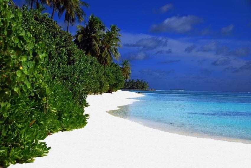 Auf den Malediven gibt es Strände wie aus dem Paradies