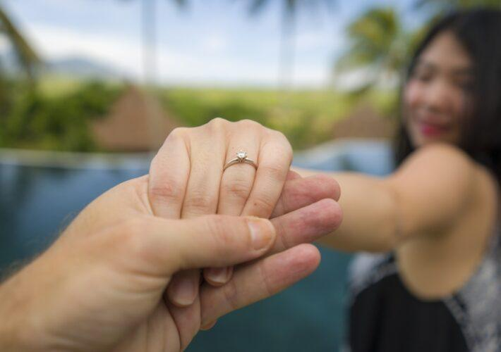 Heiratsantrag auf den Malediven