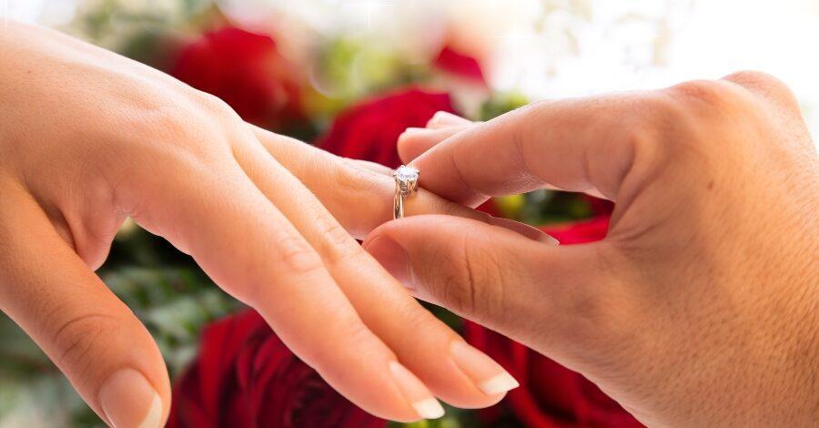 Welche hand deutschland verlobungsring Ehering welche
