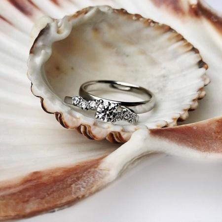 Trend 2021: Verlobungsringe aus Weißgold