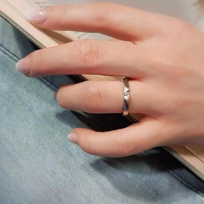 Verlobungsring Precious mit Diamant (0,04 ct )