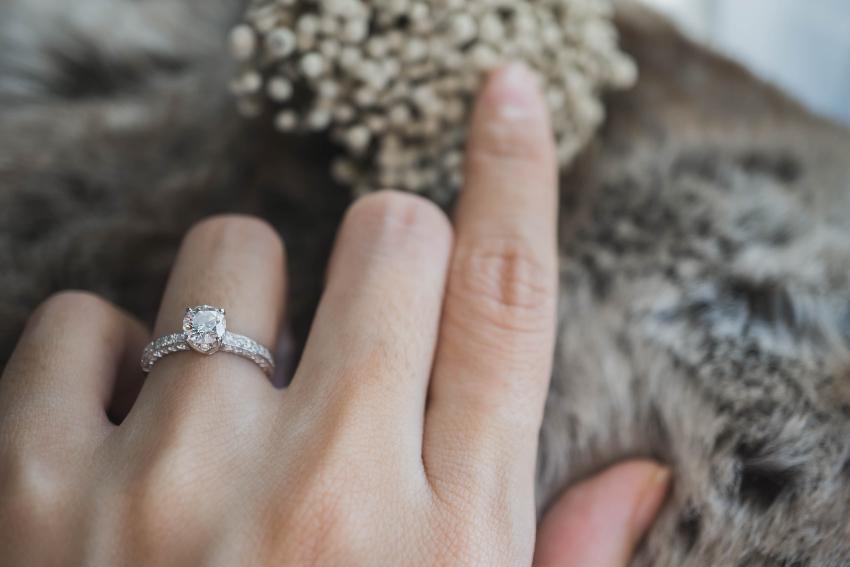 Wunderschöner Diamantring